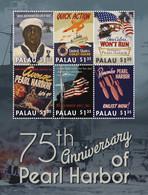 Palau 2016  World War II,  WWII,  Pearl Harbor - Palau