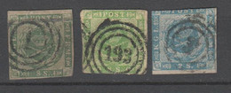 Dänemark , 3 Klassikmarken , Mittelmässig - Usati