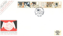 (SS 10) UK FDC - Intelpost - 1982 - Correo Postal