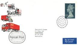 (SS 10) UK FDC - Royal Mail Parcel Post Centenary - 1983 - Correo Postal