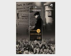 Portugal MNH ** 2021  Holocaust Memory Block - Unused Stamps