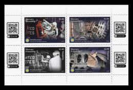 Tonga (Niuafo'ou) 2021 Mih. 837/40 Mercury-Atlas 6 Space Flight MNH ** - Tonga (1970-...)
