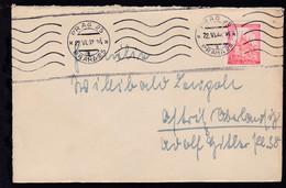 Landschaften 1.20 K. Auf Brief Ab Prag 22.VI.42 Nach Ostritz (Oberlausitz) - Occupation 1938-45