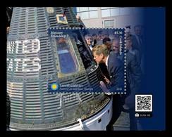 Cook Islands 2021 Mih. 2377 (Bl.284) Mercury-Atlas 6 Space Flight MNH ** - Cookinseln