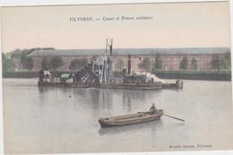 Vilvoorde - Kanaal En Militaire Gevangenis (gekleurde Versie) - Vilvoorde