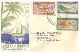 (SS 12) Tokelau Islands - FDC - 1948 - Tokelau