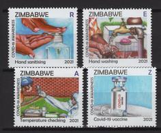 Zimbabwe (2021) - Set - /  COVID 19 - Health - Medicine - Medicina