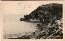 51gf 94 CPA - CAVALAIRE SUR MER - ANSE DE LACRON - Cavalaire-sur-Mer