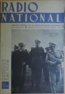Radio National. 14 Au 20/12/41. Rencontre Pétain/Goering . Une Photo Du Stalag I B Et Une Du Stalag XIII A. - 1939-45