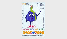 Montenegro MNH ** 2019 Sport, The Games Of The Small States Of Europe - Montenegro