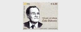 Montenegro MNH ** 2020 A Century Since The Birth Of Cedo Vukovic - Montenegro