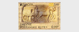 Montenegro MNH ** 2020 Europa 2020 - Ancient Postal Routes - Montenegro