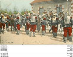 MILITARIA. Au Régiment Les Cavaliers Cuirassiers - Regimientos