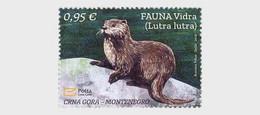 Montenegro MNH ** 2021 Fauna Otter - Lutra Lutra - Montenegro