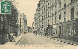 94 SAINT MANDE - La Garnde Rue De La République - Saint Mande