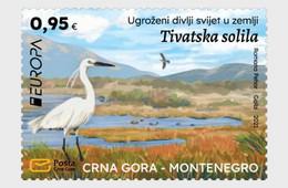 Montenegro MNH ** 2021 Europa 2021 - Endangered National Wildlife - Montenegro