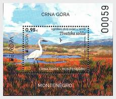 Montenegro MNH ** 2021 Europa 2021 - Endangered National Wildlife Block - Montenegro