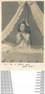 Cpa ENFANT AU LIT. Série A.N Paris Vers 1900. La Prière Ne M'oublie Pas Petit Noël - Collezioni & Lotti