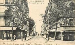 94 SAINT MANDE - La Rue Fays - Saint Mande