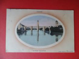 CPA 1915 - Lot - CAHORS - Le Pont Valentré Edition Spéciale Girma - LL - Cachet Militaire - Cahors