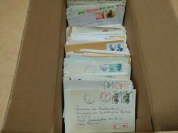 Lot D'au Moins 1700 Entiers Postaux Enveloppes Et Lettres Recommandées + 540 Courriers Simples En FB - Collections