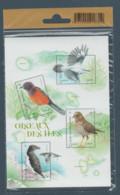 """FRANCE / 2021 / Y&T N° 5459/5462 ** Ou F5460 ** (Feuillet """"Oiseaux Des îles"""") X 1 Sous Blister - Mint/Hinged"""