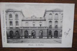 5121/BINCHE - La Station -D.V.D. Imp. Winance (1901) - Binche