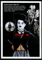 CR0672 The Grenadines 1998 Film Actor Chaplin S/S - Sonstige - Amerika