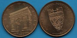 PARIS 2 EURO 13 & 14-7-1996 Bal Du 14 Juillet BRIGADE DE SAPEURS-POMPIERS  Arc De Triomphe De Paris - France