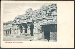 Colombo - Hindoo Temple - Sri Lanka (Ceilán)