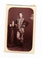 Armée Belge - Photo ( 6 X 9 Cm ) D'un Lancier ( Cette Photo était Initialement Collée Sur Un Carton ),     (B286) - Oorlog, Militair