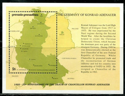 CR0689 Grenadines 1992 German Unification Map M - Sonstige - Amerika