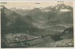 Villars Et La Plaine Du Rhone. Vus Du Sommet Du Chamossaire - Non Voyagé. (Perrochet-Matile, Lausanne) - VD Vaud