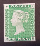 Grande-Bretagne - UK, Timbre(s) Mnh** (reproduction En Couleur Du Penny Service) - TB - 315 - Unused Stamps