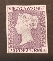 Grande-Bretagne - UK, Timbre(s) Mnh** (reproduction En Couleur Du Penny Service) - TB - 316 - Unused Stamps