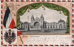 CPA GAUFREE    ALLEMAGNE---HAMBURG---ALTONA---HAUPTBAHNHOF---1905 - Altona
