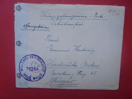 GERMAN PRISONER OF WAR- DEUTSCHLAND 1946 CENSURE+CONTENU - Covers & Documents