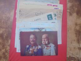 DEUTSCHES REICH BEAU LOT 55 DOCUMENTS ANCIENS DONT ENTIERS. PETIT PRIX-A SAISIR !!! - Stamped Stationery