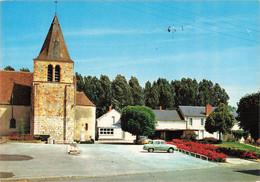 18 Lunery Eglise Mairie Cachet Rond Obliteration Lunery , Voiture Auto Renault Dauphine - Autres Communes