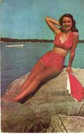 Pin-Ups,Girl,maillot De Bain,Swimming Time In Michigan - Pin-Ups