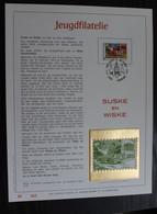 2264 'Suske En Wiske' - Luxe Kunstblad - Oplage: 500 Exemplaren! - Cartes Souvenir