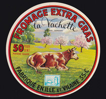 ÉTIQUETTE DE FROMAGE  -   FROMAGE LA VACHETTE - Kaas
