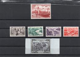 PA N° 24, 25, 26, 27 * , N° 29 ** - 1927-1959 Mint/hinged
