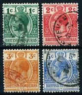 Honduras (Británica) Nº 73/75 Usado - Honduras Británica (...-1970)