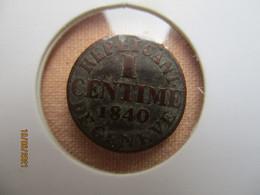 Suisse - Genève 1 Centime 1840 - Suisse