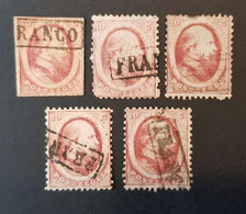 Pays-Bas - Nederland, Timbre(s) Y&T 5 - (O) 2 Scan(O) - TB - 328 - Gebruikt