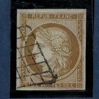 FRANCE- Yvert N° 1 - 1849-1850 Ceres