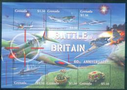 Grenada 2000  WWII,World War II ,airplanes ,battle Of Britain - 2. Weltkrieg