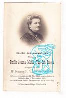 DP Foto - Emilie Joanna Van Den Broeck ° Aalst 1864 † Lebbeke 1921 X Dr. Pieter Van Nieuwenhove - Santini