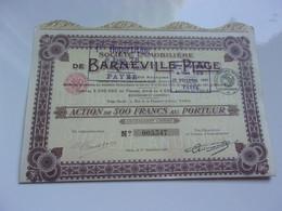 Immobilière De BARNEVILLE PLAGE - Unclassified